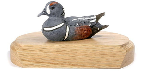 Harlequin Duck on a Base