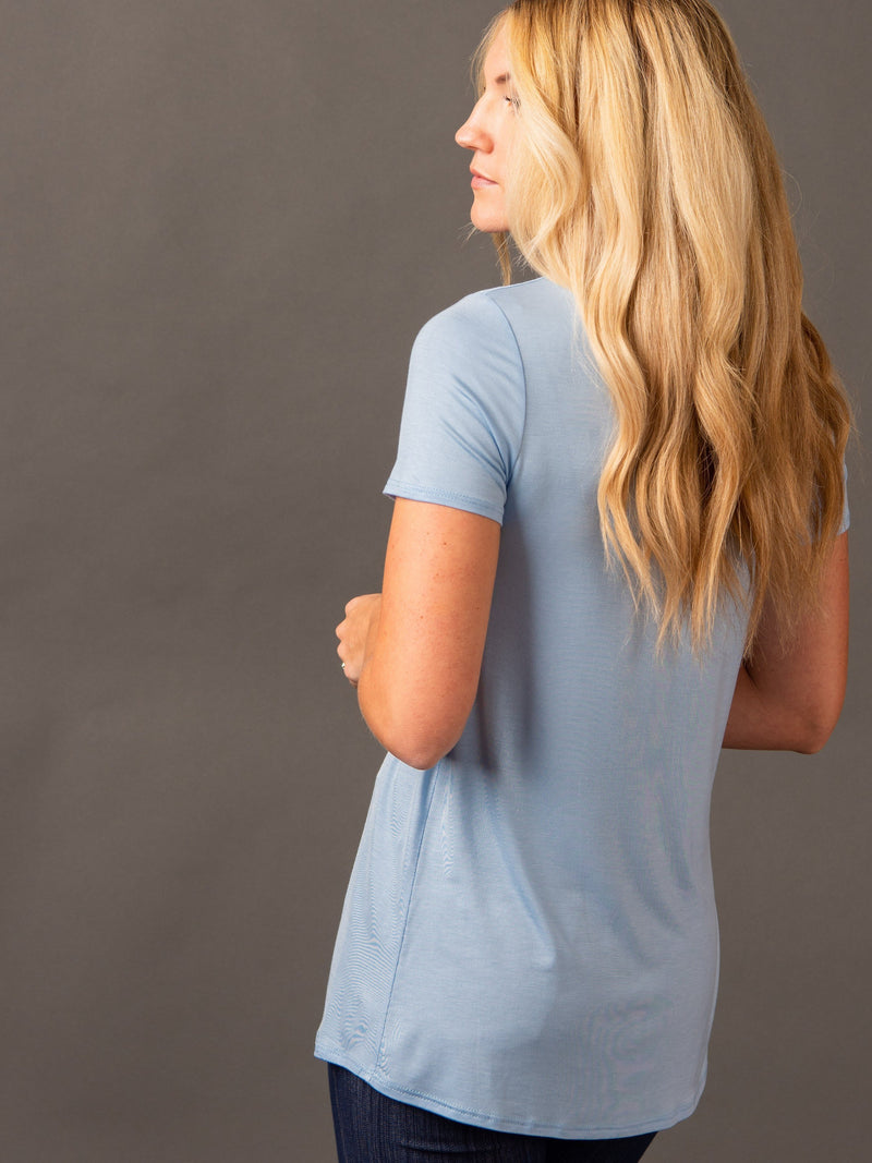 Fitted Tee Scoop Neck - Agnes & Dora™