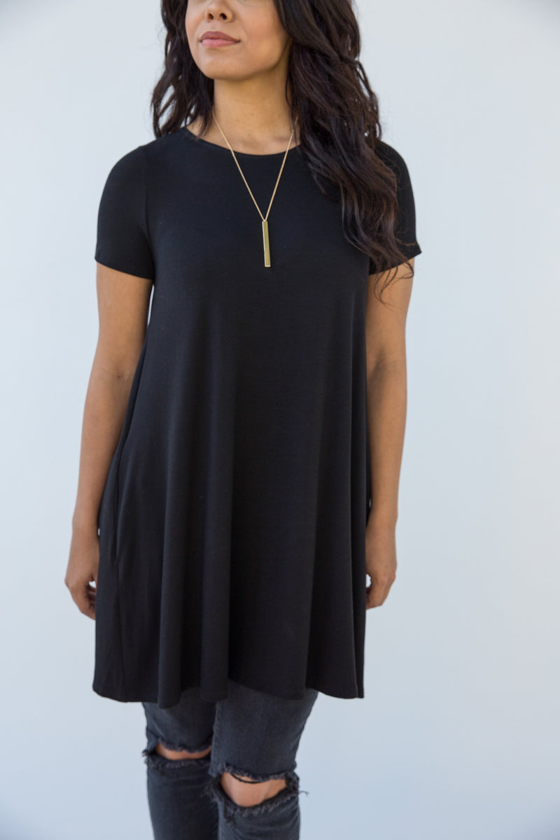 Swing Tunic Black
