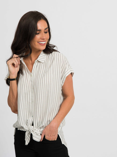 Button Down Cuff Sleeve - Agnes & Dora™