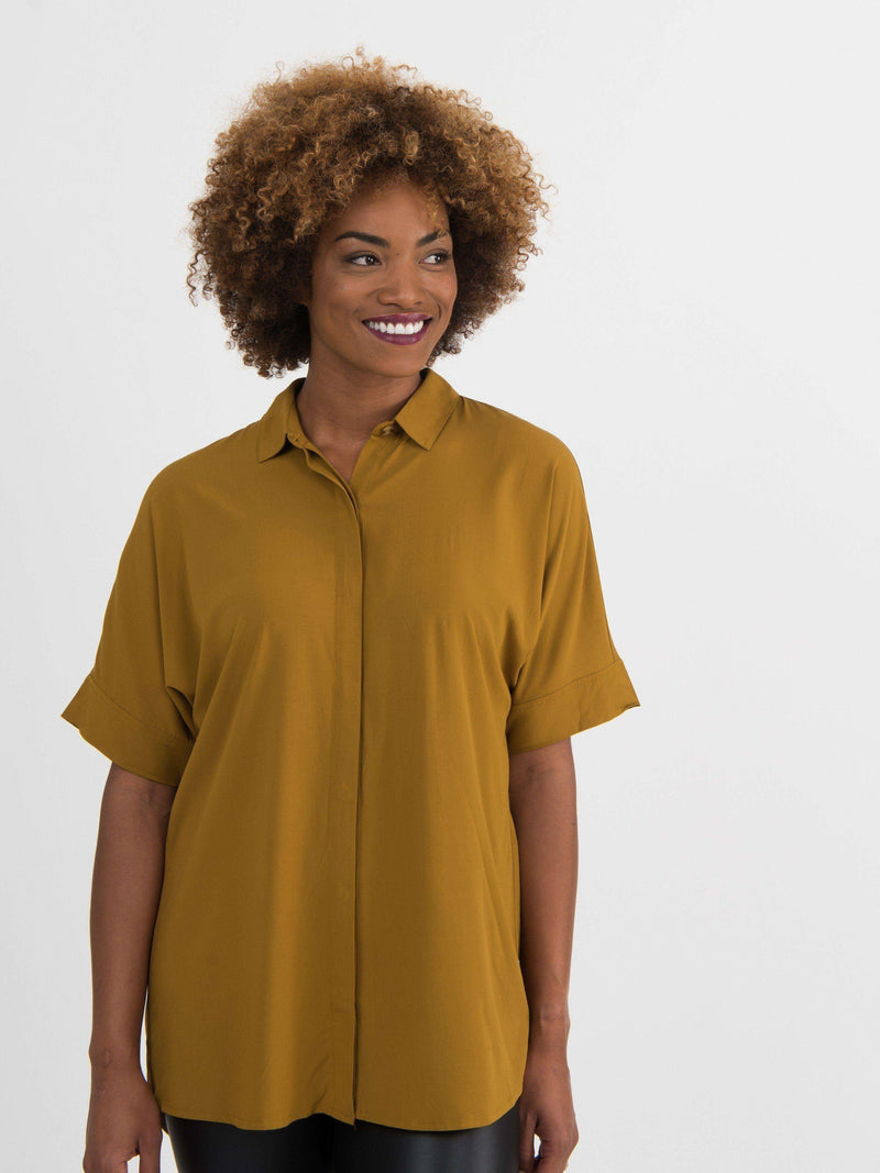 Dolman Top Button Down - Agnes & Dora™