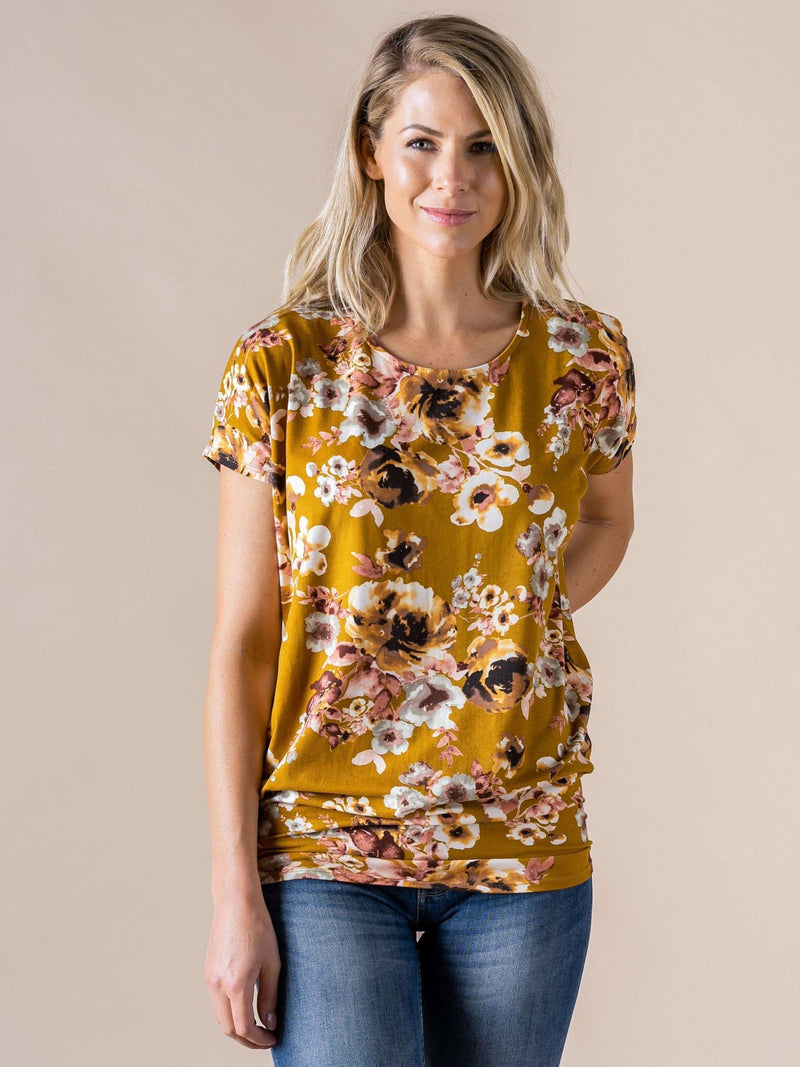 Dolman Tunic - Short Sleeve