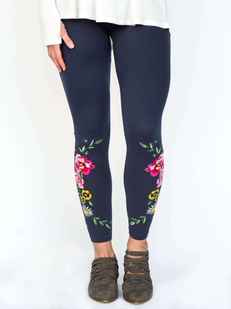 Embroidered Leggings - Agnes & Dora™
