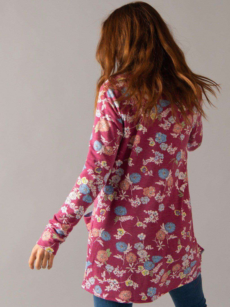 Essential Cardigan - Light Florals