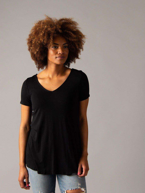 Everyday Tee V-Neck - Agnes & Dora™