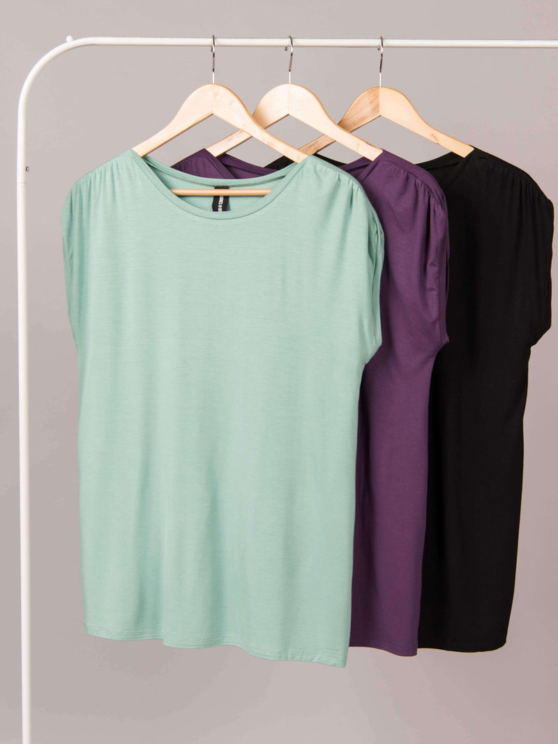 Gathered Shoulder Top - Agnes & Dora™