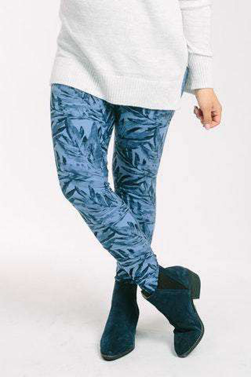 Leggings Indigo Ferns - Agnes & Dora™