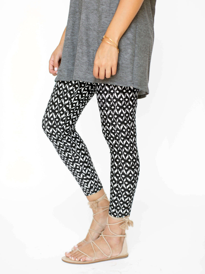 Leggings Mini IKAT (Hop the Bop) - Agnes & Dora™