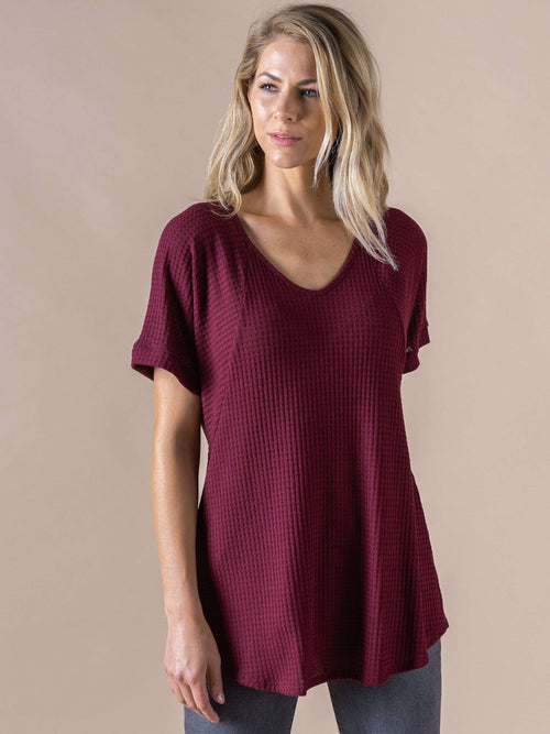 Love Top - Waffle Knit - Agnes & Dora™