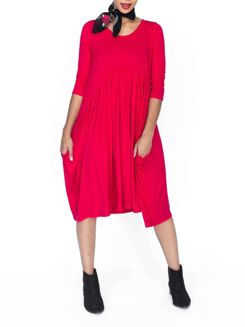 Muse Midi Dress - Solids