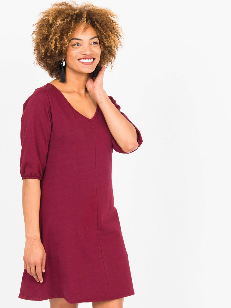 Poet Sleeve Dress