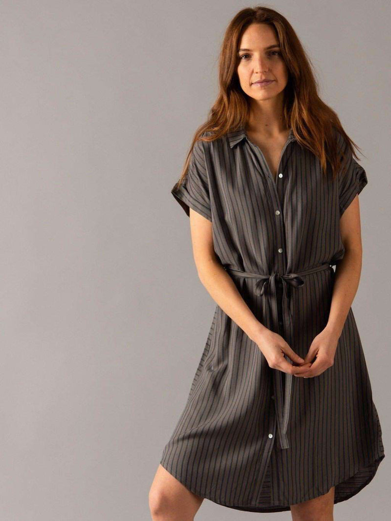 Shirt Dress Cuff Sleeve - Agnes & Dora™