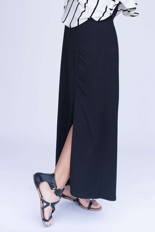 Side Slit Maxi Skirt - Agnes & Dora™