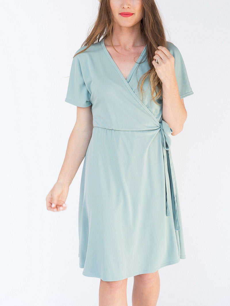 Signature Wrap Dress - Solids