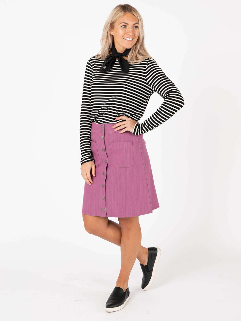 Snap Front Skirt
