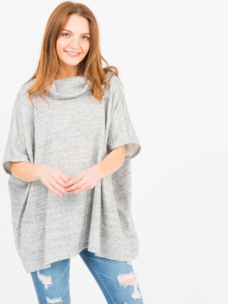 Turtleneck Poncho