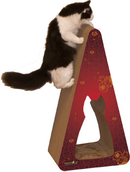 Pyramid Giant 2-in-1 Scratcher - JT wagglepurr