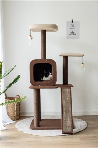 PetPals Four-level voyage, Cat activity Tree - JT wagglepurr