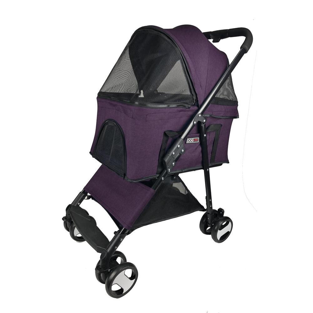 Executive Pet Stroller with a Removable Cradle - JT wagglepurr