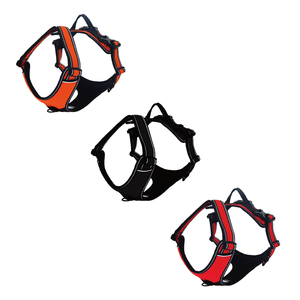Vertex front range harness - 3M Reflective - JT wagglepurr