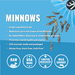 Minnows Freeze-Dried Treats (3-pack) - JT wagglepurr