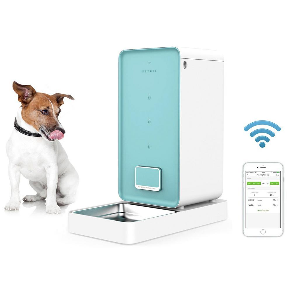 Petkit 'Element' Wi-Fi Enabled Smart Pet Food Container Feeder - JT wagglepurr