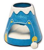 Designer Triangular Pet Bed House With Toy - JT wagglepurr