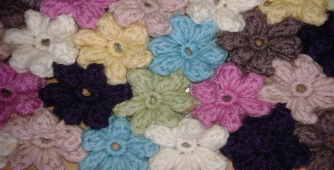 Crochet Flowers Workshop with a Granny Square Twist. Thursday 14th November 2019, 6pm - 8:30pm