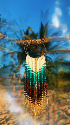Wailea Waterfall Fringe Earrings