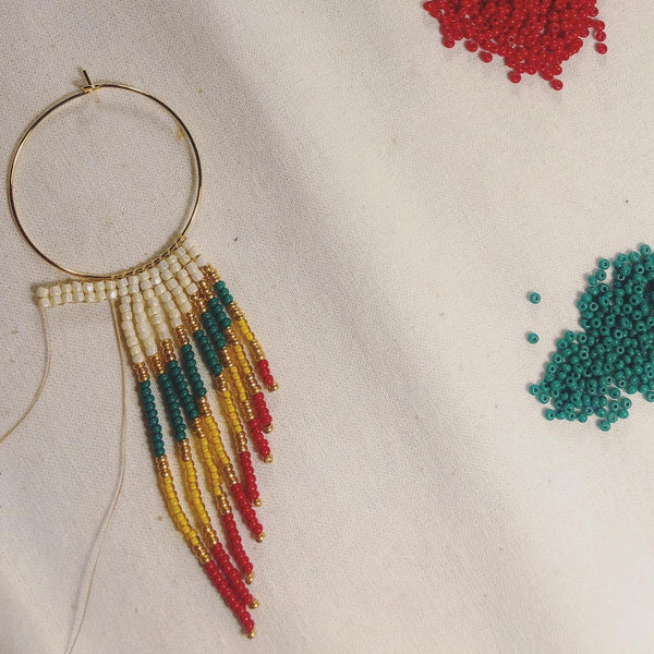 Riptide Fringe Earrings - 14k Gold Filled