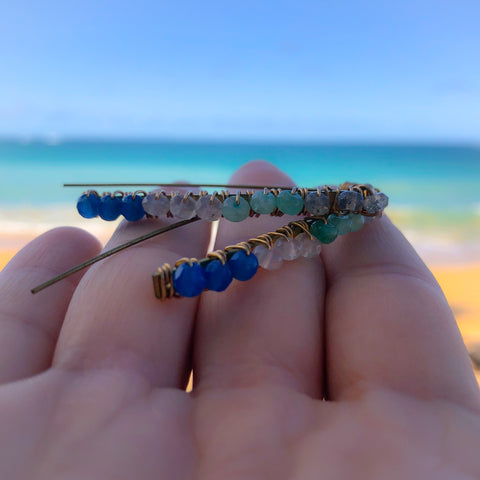 Little Ocean Threader Earrings
