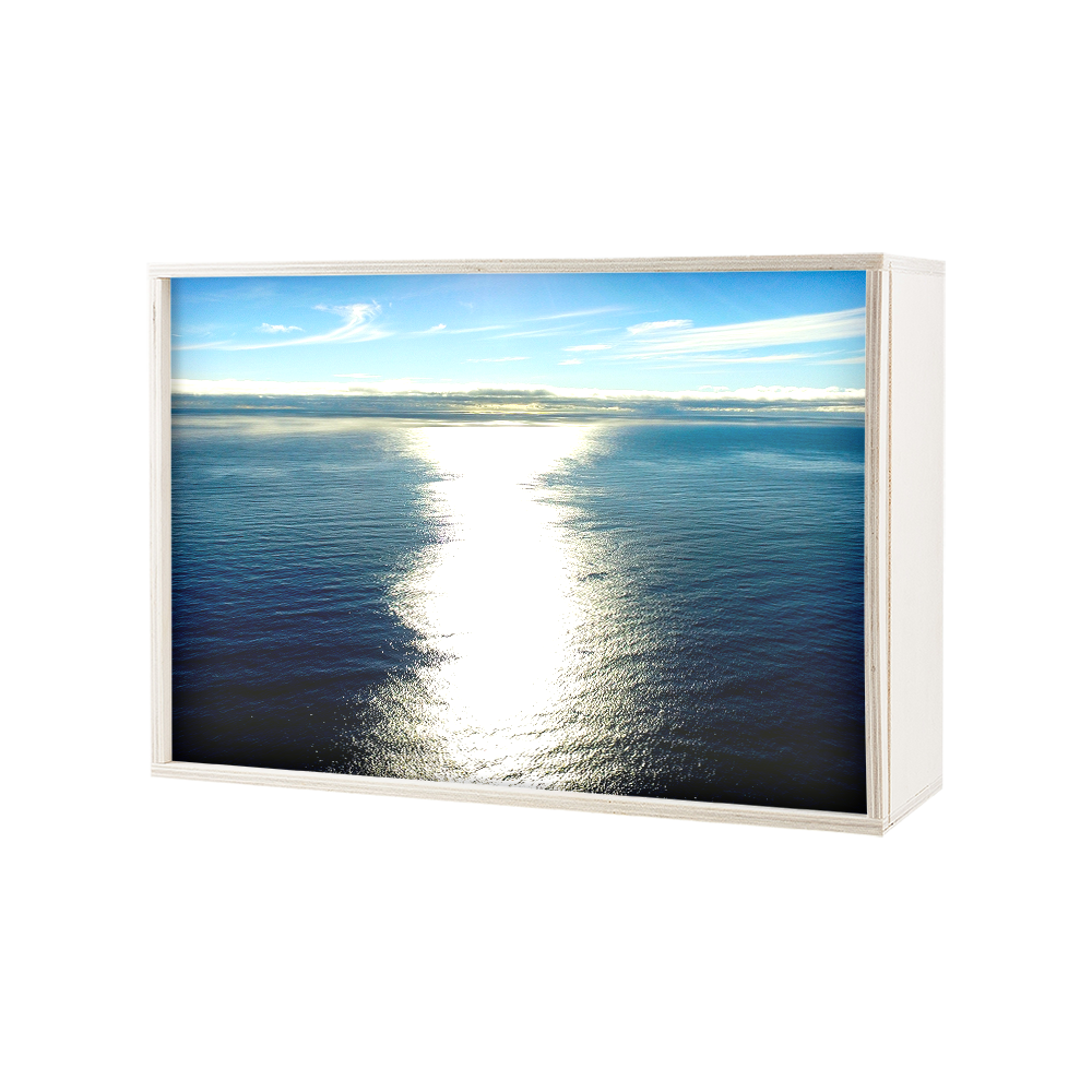 My Cazul | Azores Plywood Light Box | Horizontal | Light up Images