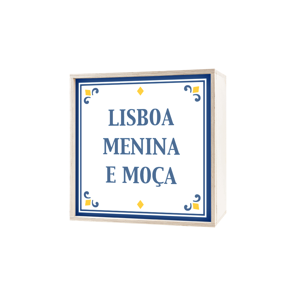 My Cazul Portuguese Sayings | Plywood Light Box | Horizontal | Light up Images
