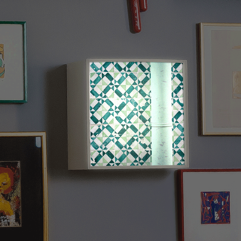My Cazul Tiles | Plywood Light Box | Horizontal | Light up Images