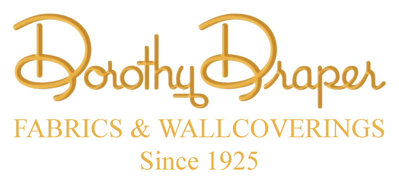 Dorothy Draper Fabrics and Wallcoverings