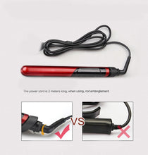 Load image into Gallery viewer, Ceramic Hair Straightener & Curling Iron 2in1