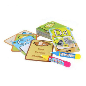 Educational Water Drawing Cards