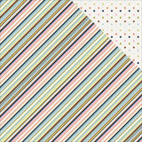 Multi Stripe 12x12 Paper Photo Play Family Ties