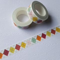 Argyle Socks Washi Tape
