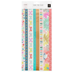 Washi Booklet Turn The Page-Pink Paislee
