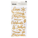 Good Tidings Gold Thickers-Together For Christmas-Pink Paislee