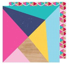 Make A Statement 12x12 Paper-Shimelle Glitter Girl