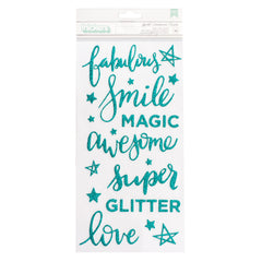 Sparkle Phrase Thickers Glitter Girl-Shimelle
