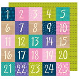 Countdown 12x12 Paper-Shimelle Box Of Crayons