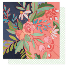 Rosewater 12x12 Paper American Crafts Hazelwood