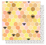 Sweet As Honey 12x12 Paper American Crafts Hazelwood