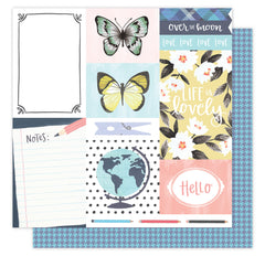 Notes From Hazel 12x12 Paper American Crafts Hazelwood