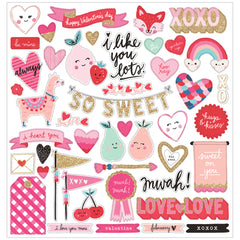 Chipboard Stickers Main Squeeze-Crate Paper