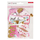 Ephemera Die Cuts Main Squeeze-Crate Paper