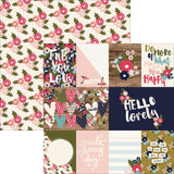 Hello Lovely 3x4 & 4x6 Journaling Cards 12x12 Paper-Simple Stories Hello Lovely